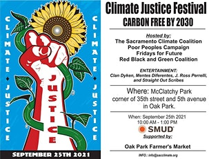 Climate Justice Festival: Carbon Free by 2030 tickets