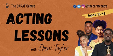 Acting lessons for Young People aged 15-16 tickets