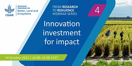 Innovation investment for impact Tickets
