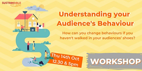 Understanding your Audiences' Behaviour tickets