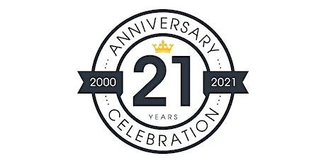 Empire Creative's 21st Anniversary tickets