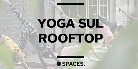 Spaces Laurentina | Lezione di yoga sul rooftop biglietti