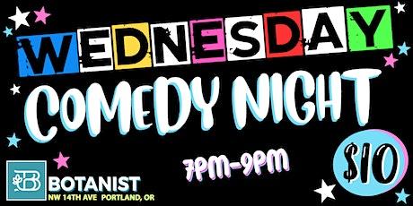 Wednesday Comedy Night Sept 29nd tickets