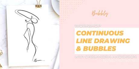 Continuous Line Drawing and Bubbles workshop tickets