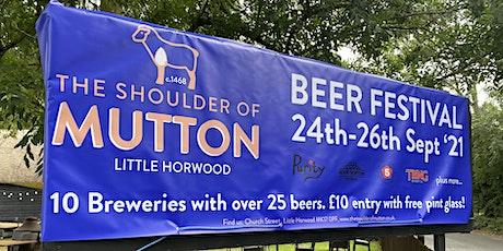 Shoulder of Mutton Beer Festival tickets
