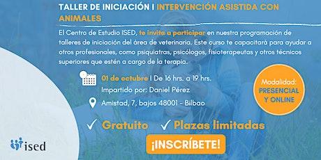 Taller de Iniciación de Intervención Asistida Animales Octubre 01 entradas