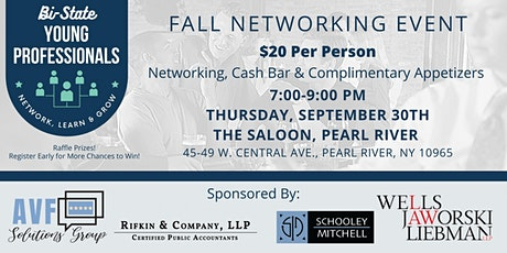 Bi-State Young Professionals Fall Networking Event tickets