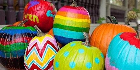 Kids Workshop | Paint a Pumpkin tickets