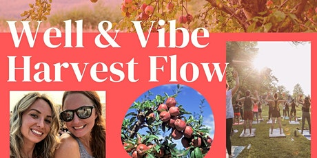 Well & Vibe Harvest Flow tickets