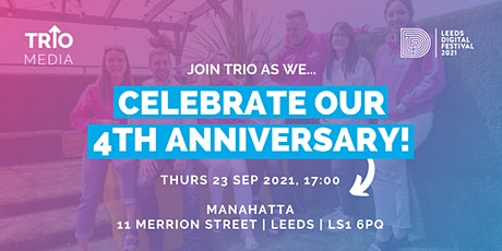 Celebrate our 4th anniversary! tickets