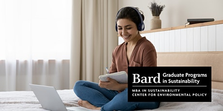 Bard Graduate Programs in Sustainability - Nov 2021 Virtual Open House tickets