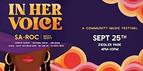 In Her Voice 2021 tickets