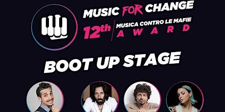 """FINALE NAZIONALE """"Music for Change"""" (24-09-2021 ore 21:00) Cosenza biglietti"""