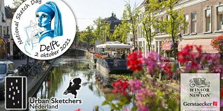 National Sketch Day Delft - 2 oktober 2021 - Urban Sketchers Netherlands tickets