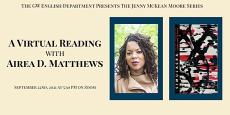 A Virtual Reading with Airea D. Matthews tickets