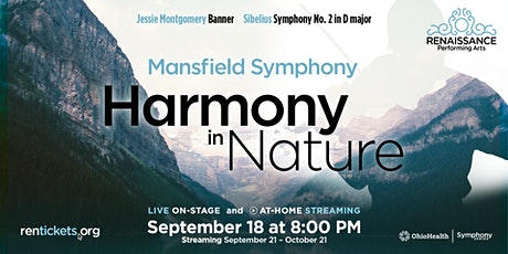 Mansfield Symphony: Harmony in Nature - At-Home Stream tickets