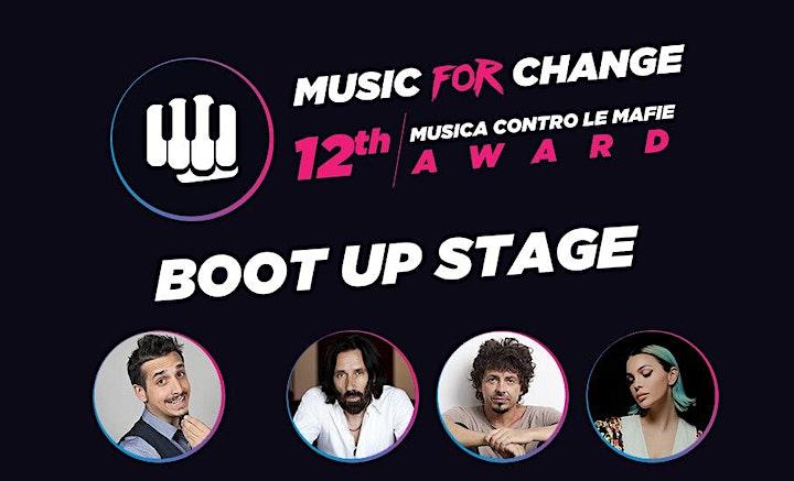 """Immagine FINALE NAZIONALE """"Music for Change"""" (24-09-2021 ore 21:00) Cosenza"""