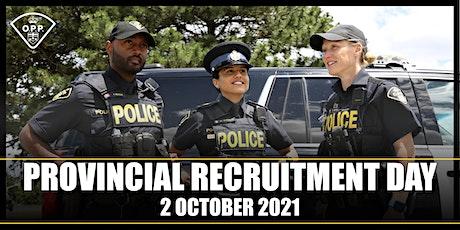 Provincial Recruitment Day ingressos