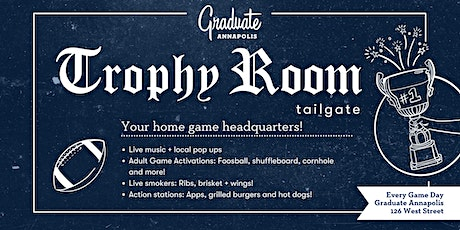 Trophy Room Tailgate tickets