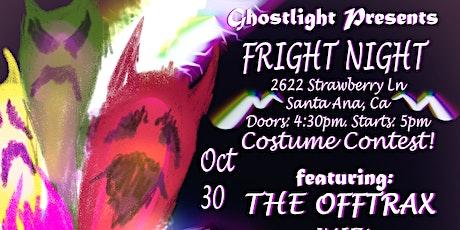 Ghostlight Presents Fright Night tickets