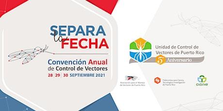 Convención de Control de Vectores tickets