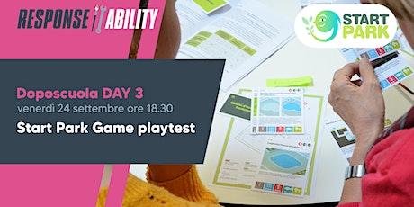 Start Park Game | PlayTest biglietti