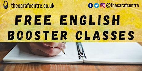 KS3 English Booster Classes (11-14 yrs) tickets