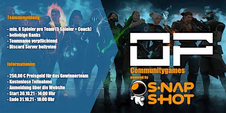 OnkelPasha Team Communitygames powered by Snapshot Part II Tickets