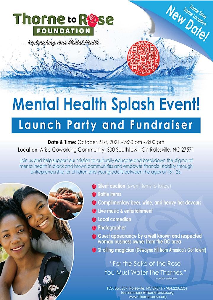 Mental Health Splash Event! image