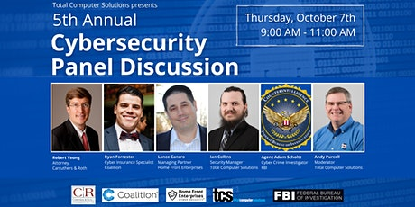 TCS 5th Annual Cybersecurity Panel Discussion tickets