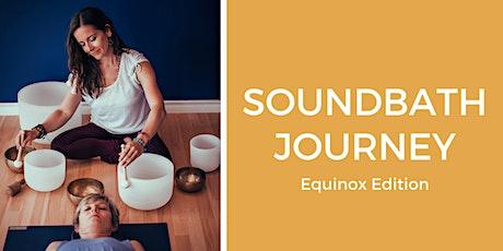 Soundbath Journey: Equinox at  Clai-i-tea tickets