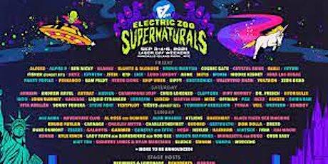 Electric Zoo: Sunday VIP + Sunday Roundtrip Ferry tickets