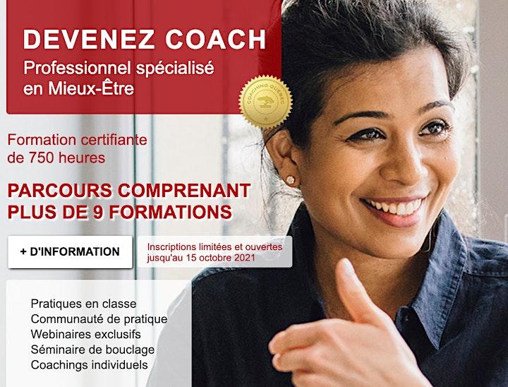 Image de Séance d'information Coach professionnel(le) spécialisé(e) en Mieux-Être