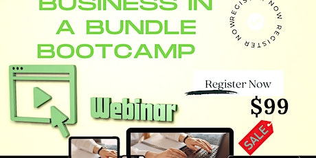 Business In A Bundle Bootcamp- starting an e-commerce business tickets