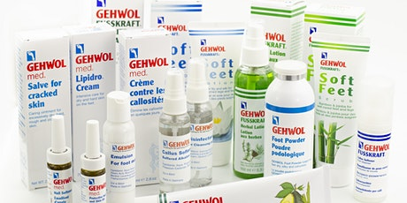 GEHWOL Foot Care Product Knowledge and Nail Repair Reconstruction Demo tickets