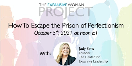 How to Escape the Prison of Perfectionism tickets