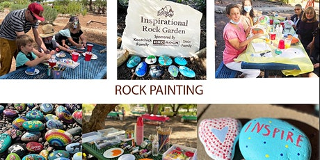 Rock Painting Event at the Gardens-Multiple Dates tickets