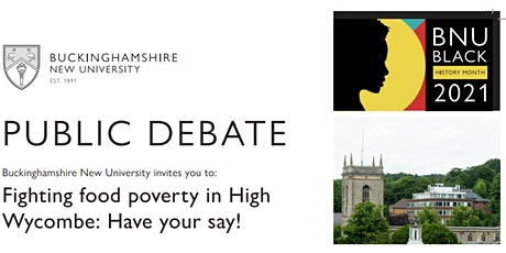 Fighting food poverty in High Wycombe: Have your say! tickets