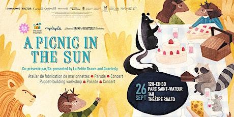 Kids POP:  A picnic in the sun - Clerel, Geneviève Toupin & Jérôme Minière tickets