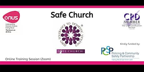 Safe Church - Mid & East Antrim tickets