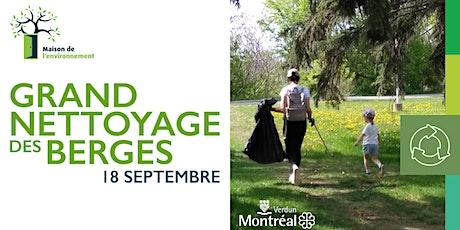Grande corvée des berges - départ du parc de l'Orée-du-Fleuve (IDS) tickets