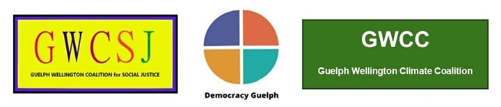 Climate Crisis and Social Justice: A Guelph Virtual Town Hall Event image