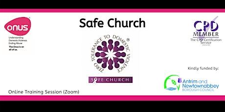 Safe Church - Antrim & Newtownabbey tickets