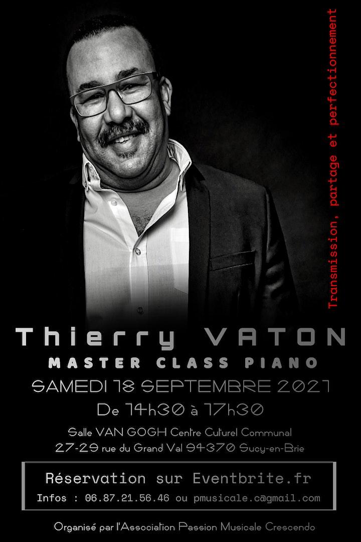 Image pour MASTER CLASS PIANO - Thierry VATON (Découverte et