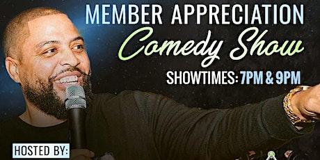 Triad Fitness  Member Appreciation Comedy Show tickets