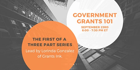 Org Toolkit: Government Grants 101 tickets
