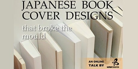 Japanese Book Cover Designs that Broke the Mould tickets