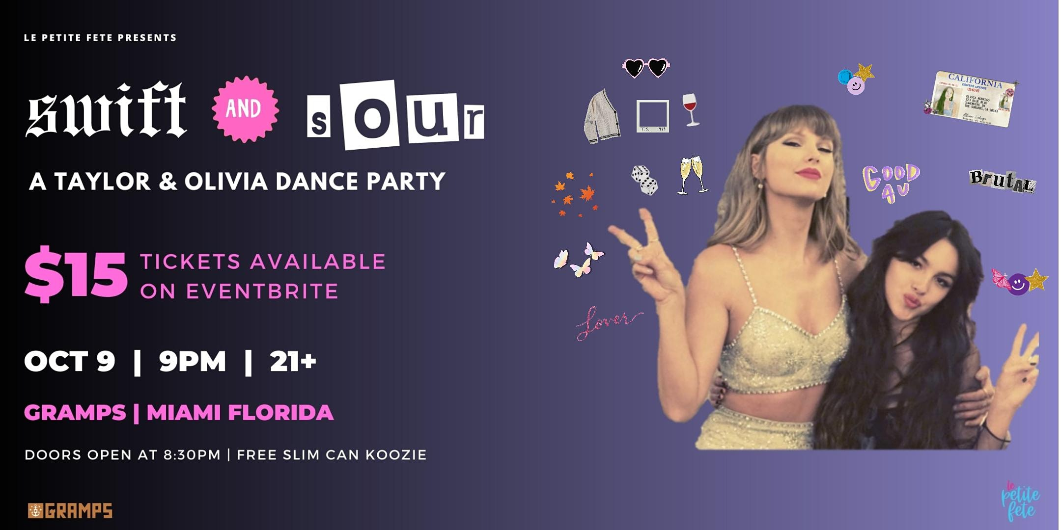 Swift & Sour: A Taylor and Olivia Dance Party