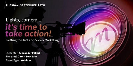 Lights, camera... it's time to take action!!! tickets