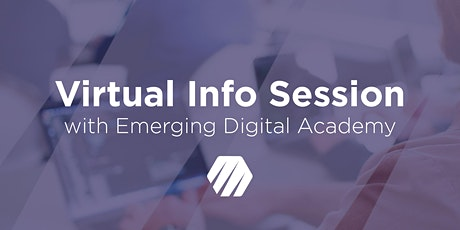 [Virtual] Info Session tickets